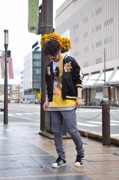 【 doublet 】/ CHAOS EMBROIDERY SOUVENIR JACKET : Stylingの写真