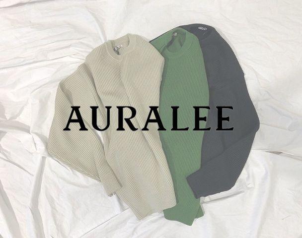 AURALEE / 新作アイテム入荷
