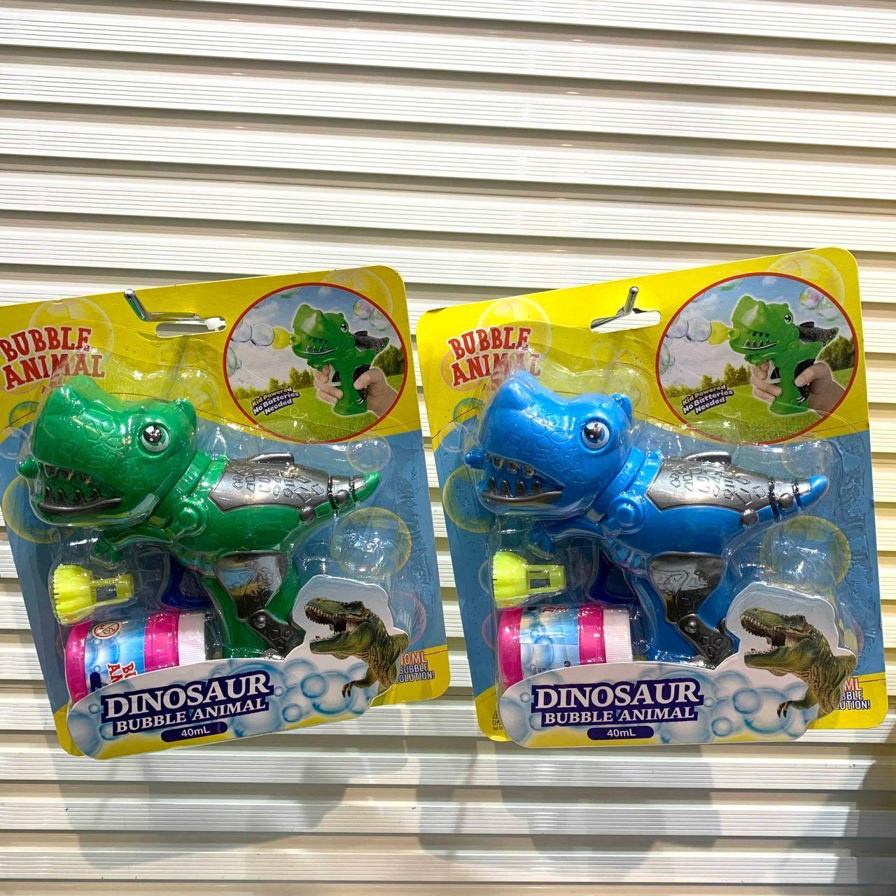 「○夏本番!恐竜水鉄砲で水遊び!○」の写真