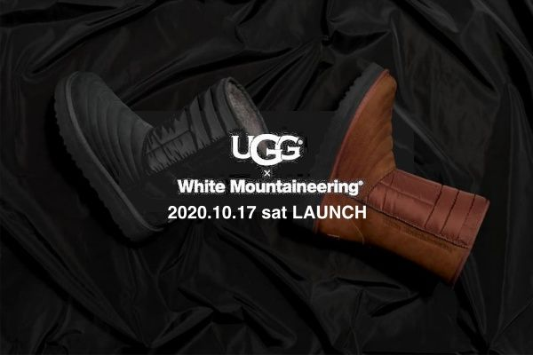 White Mountaineering×UGG MOUTON QUILTED BOOTSの写真