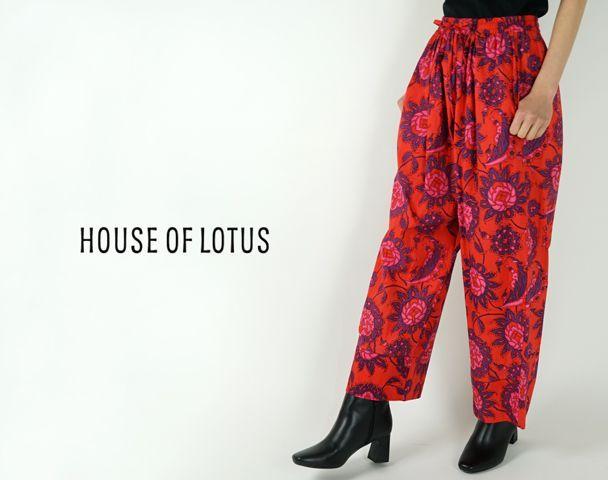 HOUSE OF LOTUS / 20SS新作アイテム入荷