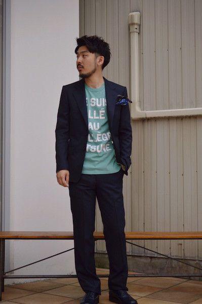 【 N.HOOLYWOOD 】/ COMPILE LINE SUIT : Styling2の写真