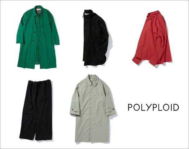 POLYPLOID / 20SS Collection Start! 新作入荷