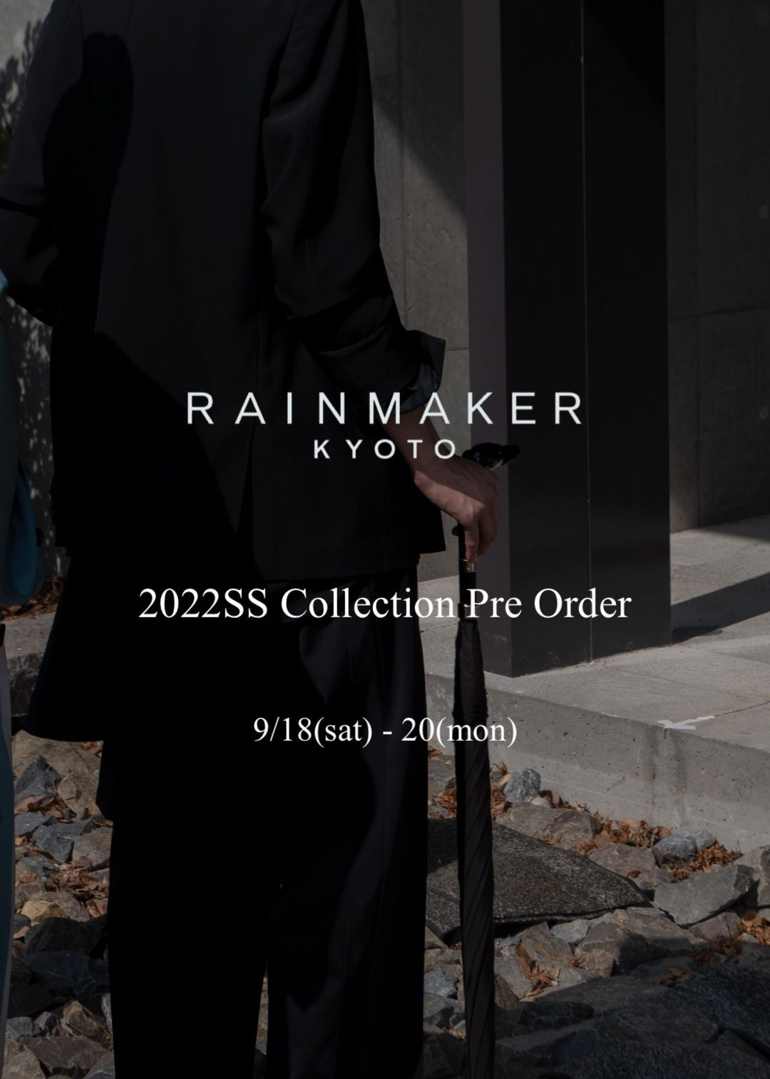 RAINMAKER  2022SS Collection Pre Orderの写真