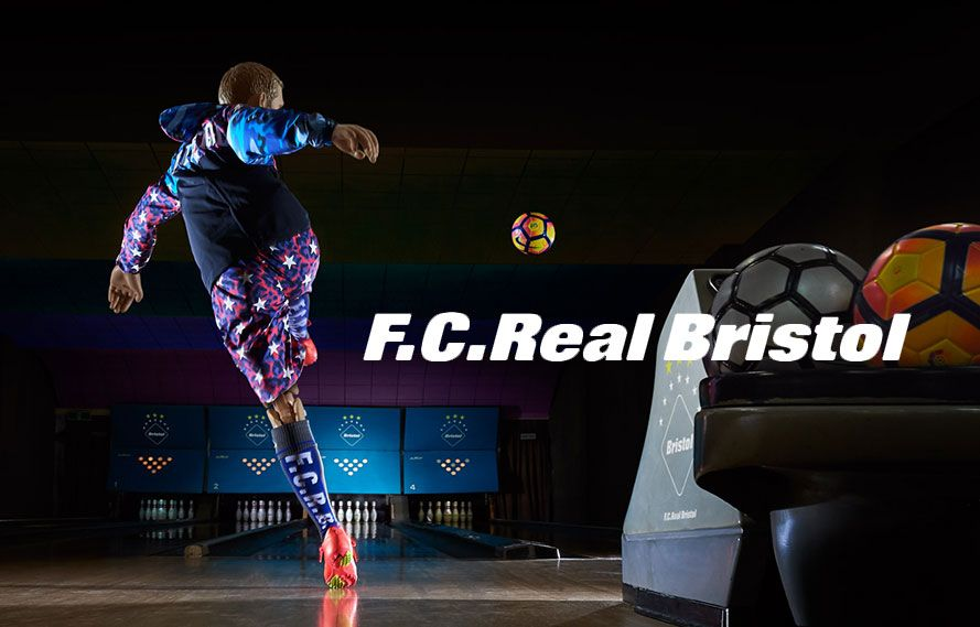 F.C.Real Bristol 2017 S/S COLLECTION START!!!の写真
