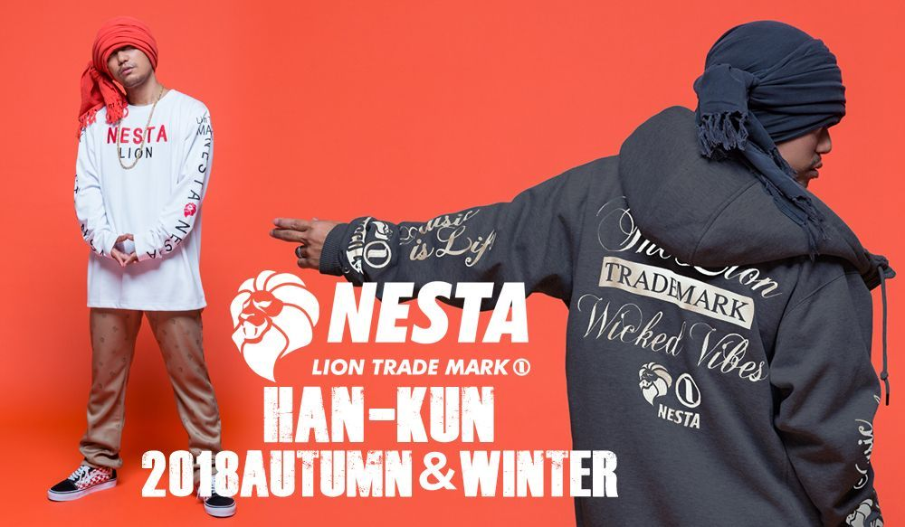 NESTA BRAND × HAN-KUN