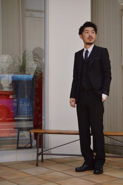 【 N.HOOLYWOOD 】/ COMPILE LINE SUIT : Stylingの写真