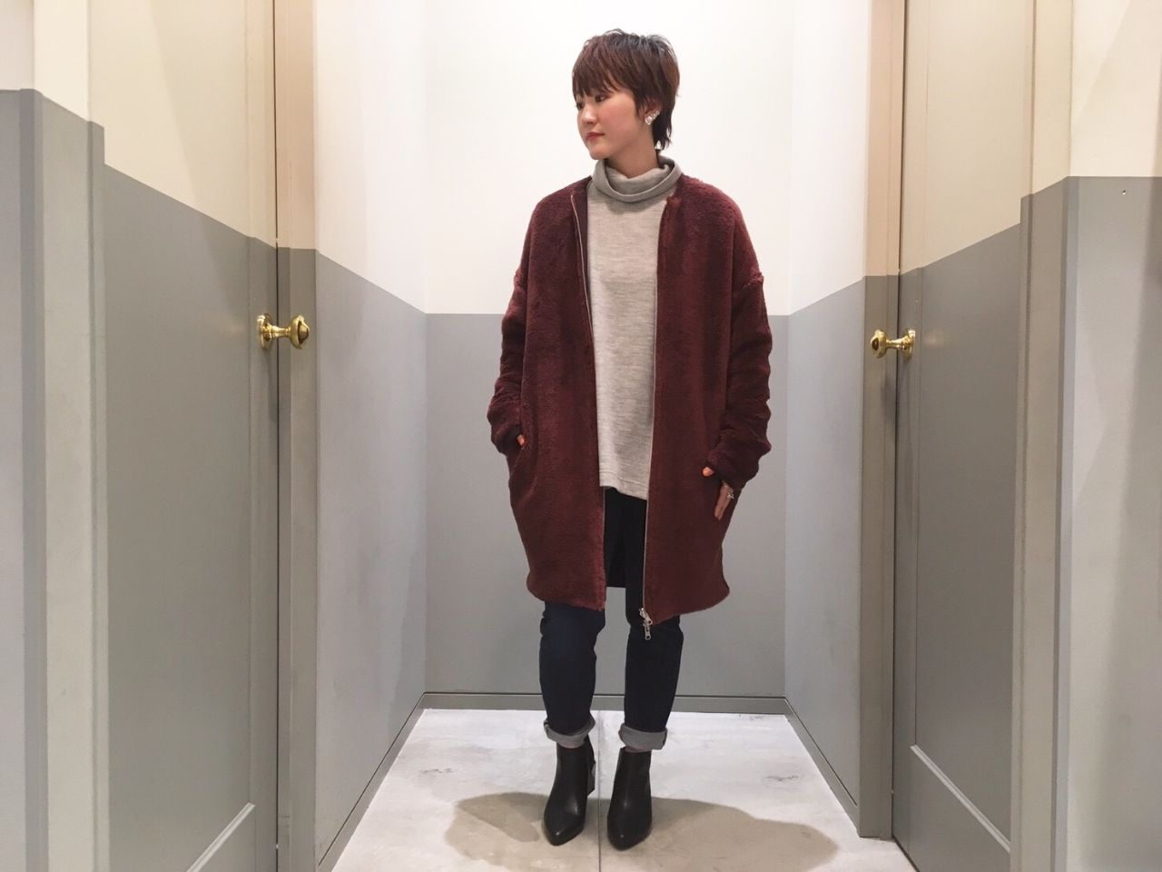 mameshiba coatの写真