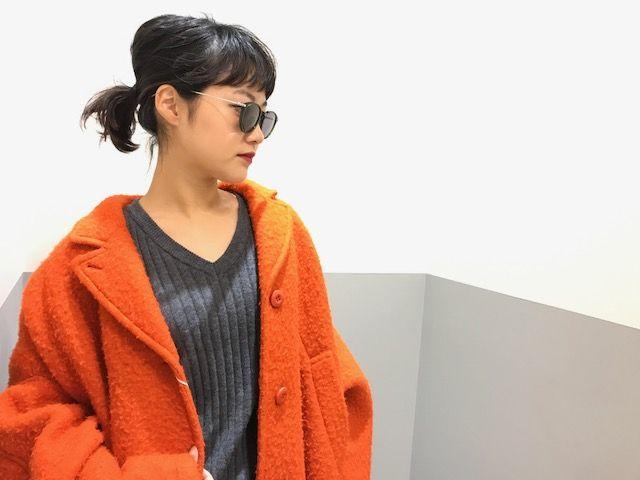 Sunglasses in the winterの写真